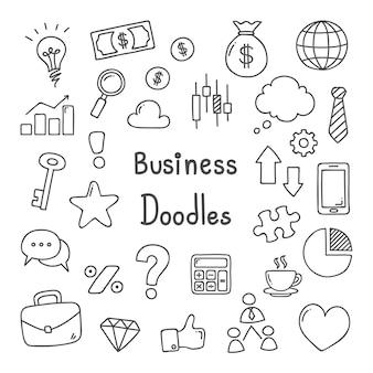 Doodles de negocios.