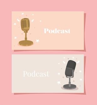 Dos cárteles de podcast
