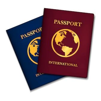 Dos conceptos de pasaportes internacionales