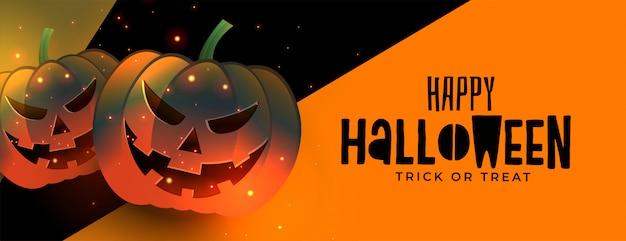 Dos miedo riendo calabaza halloween