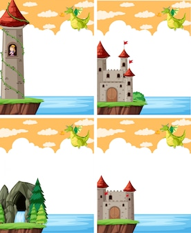 Dragón y el castillo