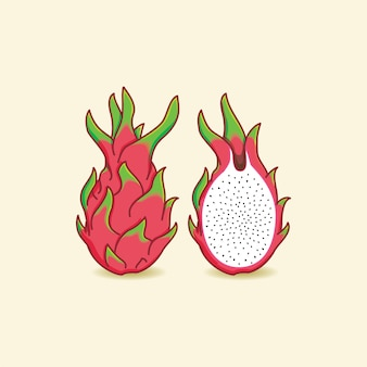 Dragon de fruta