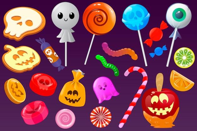 Dulces caramelos halloween