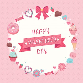 Dulces valentines