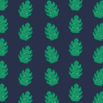 Ecología hojas patrón de plantas.