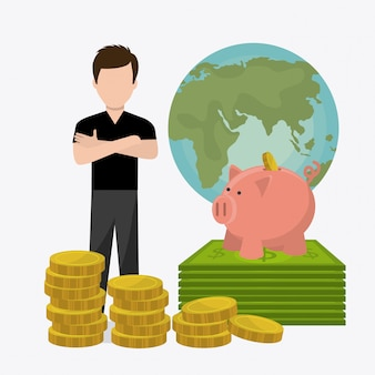 Economía global, dinero y negocios