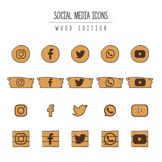 Edición en madera para redes sociales