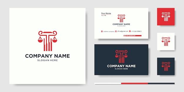 Edificio con concepto de línea. edificio de la ciudad abstracto para la inspiración del logotipo. diseño de tarjetas de visita