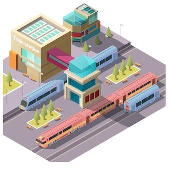Edificio de la estación de tren