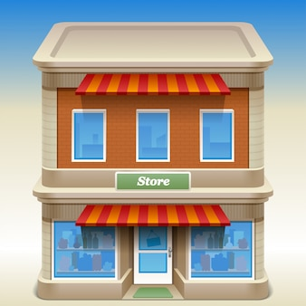 Edificio de la tienda
