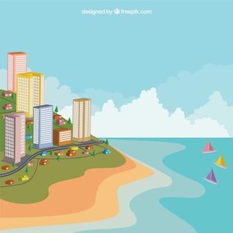 Edificios costeros