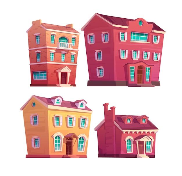 Edificios victorianos urbanos