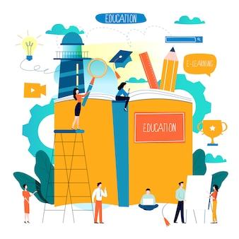Educación, cursos de capacitación en línea,