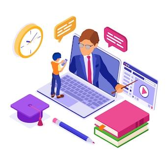 Educación a distancia en línea desde casa
