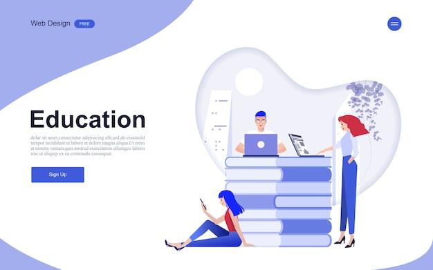 Educación en línea, formación y cursos, aprendizaje.
