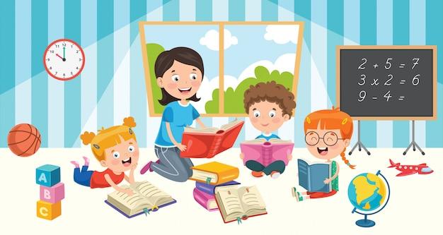 Educación de pequeños estudiantes