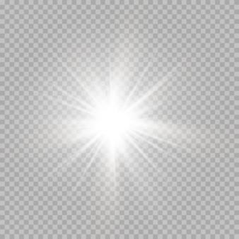 Efecto cósmico brillante de navidad
