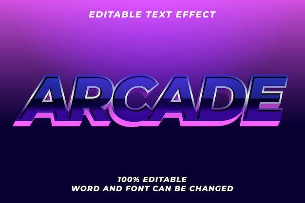 Efecto de estilo de texto elegante