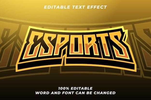 Efecto de estilo de texto de esport 5