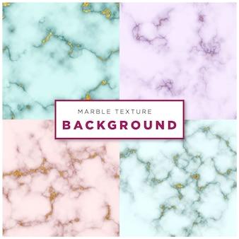 Efecto de fondo de textura de paquete de mármol