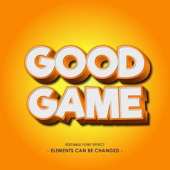 Efecto de fuente de dibujos animados para juego o título