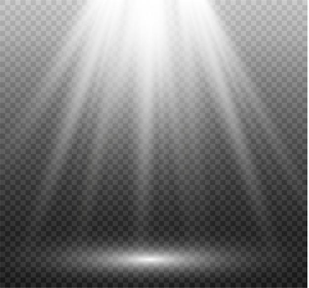 Efecto de luz de destello de lente especial de luz solar transparente patrón abstracto de navidad. brillantes partículas de polvo mágico.