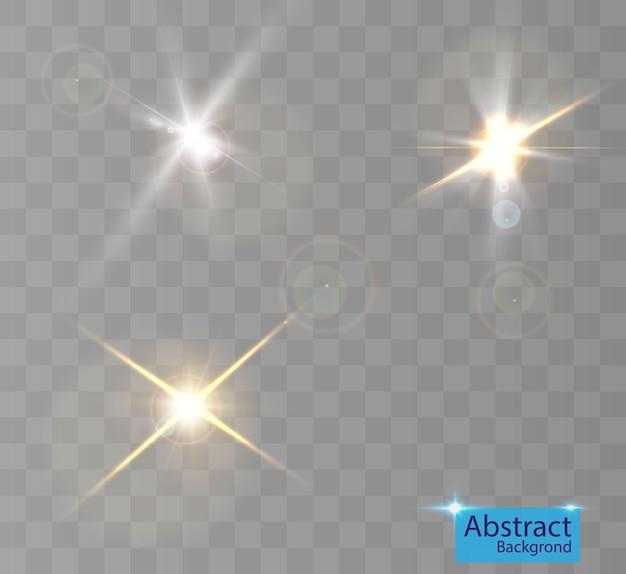 Efecto de luz para fondos e ilustraciones.