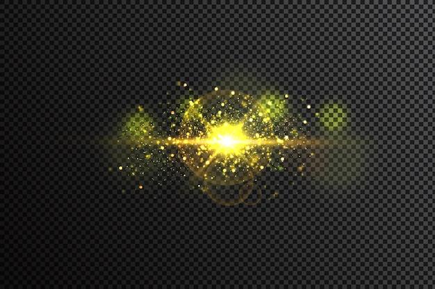 Efecto de luz resplandor