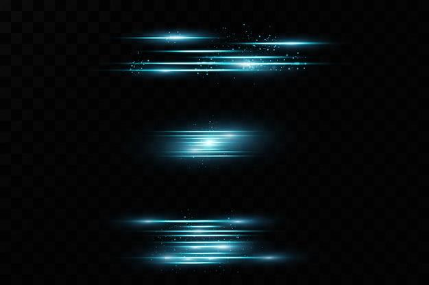 Efecto de luz. resumen rayos láser de luz. caóticos rayos de luz de neón.