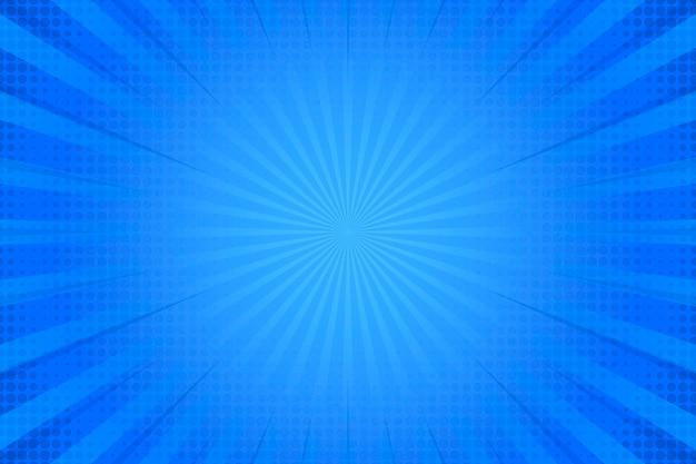 Efecto de semitono sobre fondo azul