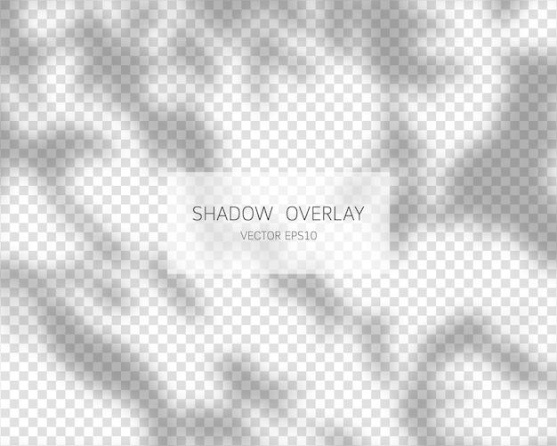 Efecto de superposición de sombra natural