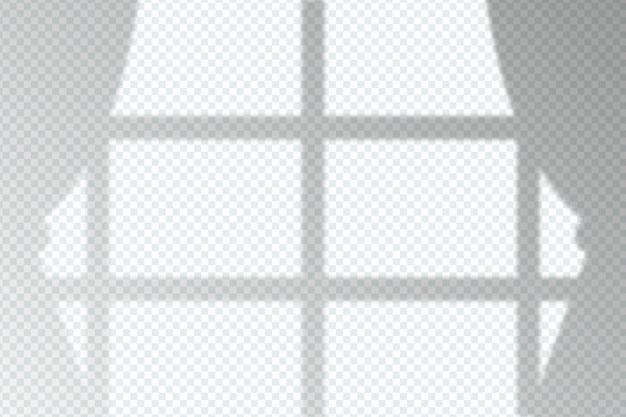 Efecto de superposición de sombras grises monocromas
