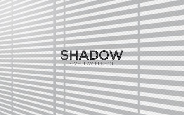 Efecto de superposición de sombras