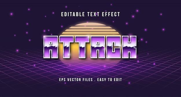 Efecto de texto en 3d, texto editable
