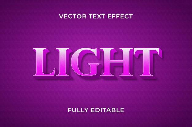 Efecto de texto claro