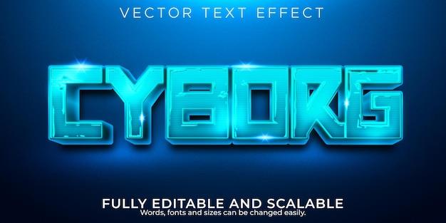 Efecto de texto de deportes, juego editable y estilo de texto de neón