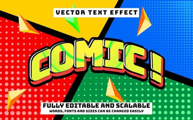 Efecto de texto editable y cambio de texto