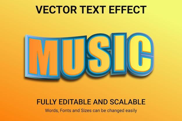 Efecto de texto editable: estilo de texto headline