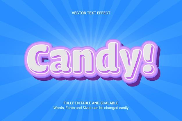 Efecto de texto editable: estilo de texto thunder