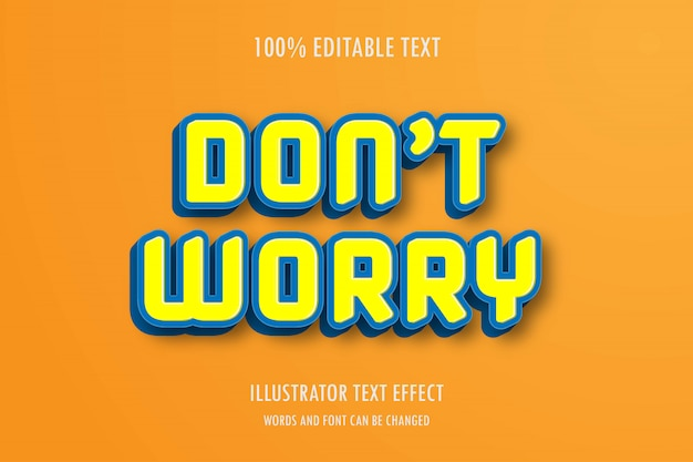 Efecto de texto editable, fuente editable fácil, estilo y efecto