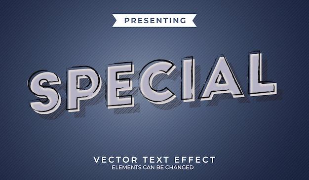 Efecto de texto editable retro 3d con textura grunge
