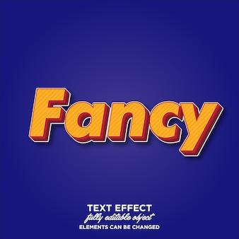 Efecto de texto fuerte en negrita 3d para cartel, pancarta y folleto