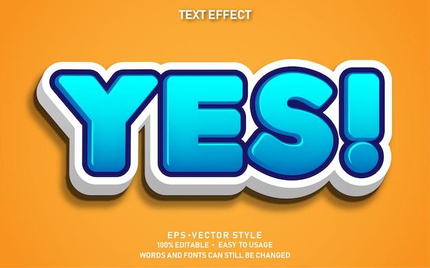 Efecto de texto sí