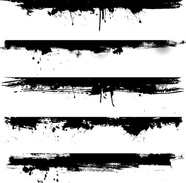 Efecto de tinta grunge