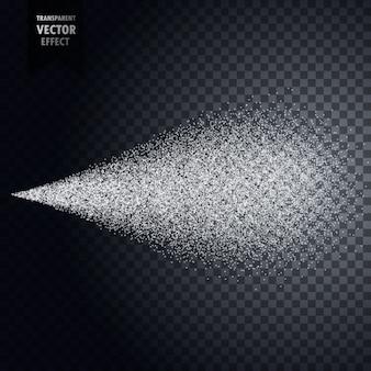 Efecto transparente de niebla de aerosol de agua