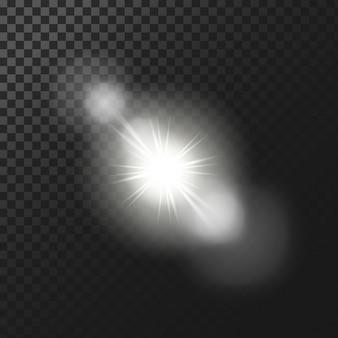 Efectos de luz de fondo