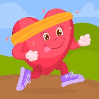 Ejercicio para un corazón sano