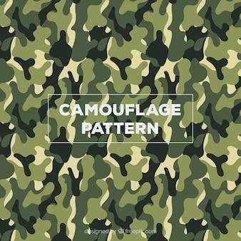 Ejército camuflaje vector patrón