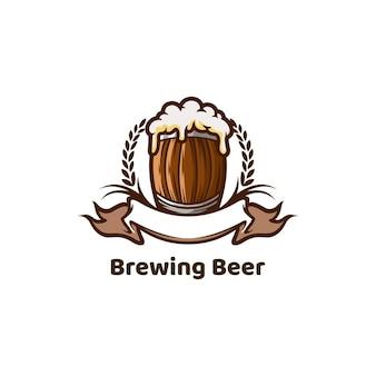 Elaboración de cerveza vaso de cerveza bebidas bar club