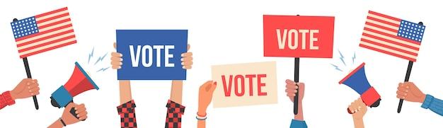 Elección presidencial en estados unidos de américa